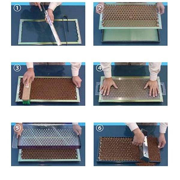 Vegyes vetőmag papírcserép vetőkészlettel